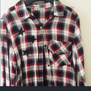 NWT Mayoral Plaid Shirt